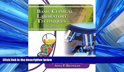 PDF [DOWNLOAD] Basic Clinical Laboratory Techniques BOOK ONLINE