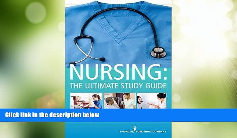 Best Price NURSING: The Ultimate Study Guide Nadia R. Singh BSN  RN PDF
