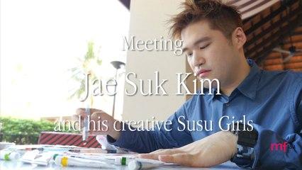 Interview: JaeSuk Kim drawing the Susu Girls
