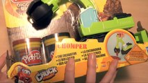 (TOYS) Pâte à modeler Camion Bulldozer Play Doh Chuck Véhicules de Chantier Diggin Rigs Chomper