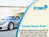 Genuine Suzuki Spare Parts | BP Auto Spares India