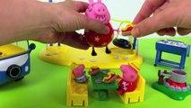 Peppa Pig se va de Camping Hacemos Perritos Calientes de Plastilina Play Doh Comida Juguetes