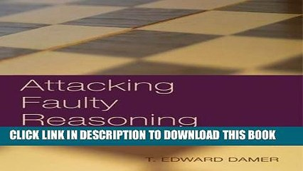 [READ] Kindle Attacking Faulty Reasoning Free Download