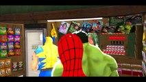 Wheels on The bus Wolverine Hulk Superman vs Spiderman & Venom New Episode Superheroes in Real Life