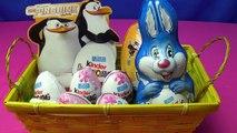 Kinder Surprise + Kinder Surprise Maxi + Bunny Rabbit Egg Gift Set Crazy Easter with Ferrero