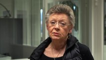 Pr Barré Sinoussi, co-découvreuse du VIH et prix Nobel, Institut Pasteur