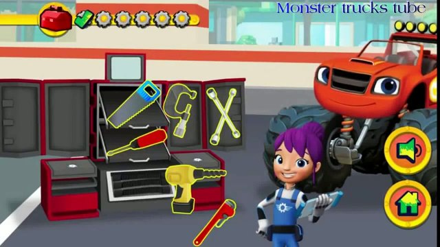 Blaze And The Monster Machines Game Compilations - Blaze And The Monster Machines 2016