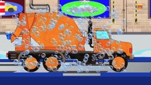 Cement Truck Car Wash | Car Wash | Cement Mixture Truck