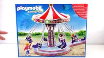 PLAYMOBIL Summer Fun Flying Swings with Colorful Lights | Set 5548 Unboxing