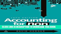 EPUB DOWNLOAD Accounting for Non-Accountants PDF Online