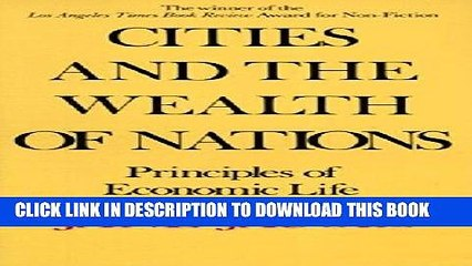 [PDF] Epub Cities and the Wealth of Nations: Principles of Economic Life Full Online