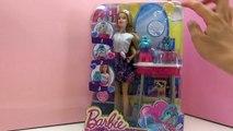 Salon pour les animaux  Barbie – Petits chiens multicolores - Barbie en français