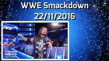 WWE Smackdown 29 November 2016 Highlights-Wwe smackdown 11-29-2016 highlights 29-11-2016