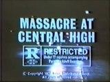 MASSACRE AT CENTRAL HIGH (1976) Rare television spots * Exploitation / Revenge classic * grindhouse