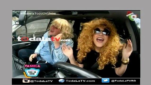 Pamela Sued junto al Panda Que Anda hacen un Carpool Karaoke-Pamela Todo Un Show-Video