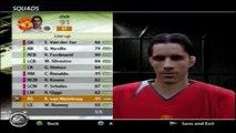 Fifa 06 Manchester United Squad Ferdinand Ronaldo Keane Scholes Giggs Nistelrooy Rooney Saha