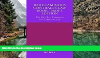 Online Bam Yum H law books Bar Examiner s Contracts law book - prof s edition: The Way Bar