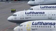 Grève à Lufthansa : 1700 vols annulés mardi et mercredi
