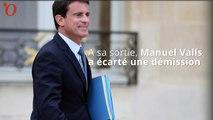 Manuel Valls a vu François Hollande : il ne démissionnera pas