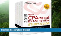 FAVORIT BOOK Wiley CPAexcel Exam Review 2015 Study Guide January: Set (Wiley Cpa Exam Review)