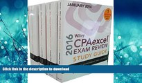 FAVORIT BOOK Wiley CPAexcel Exam Review 2016 Study Guide January: Set (Wiley Cpa Exam Review)