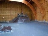 Flip back skate