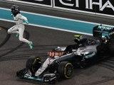 Classements du Grand Prix F1 d'Abu Dhabi 2016 - Infographie