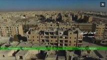Occupé depuis 2012 par la rébellion, un quartier d'Alep repris par l'armée syrienne