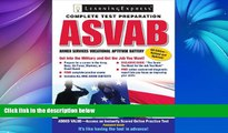 Pre Order ASVAB: Armed Services Vocational Aptitude Battery (Armed Services Vocational Aptitude
