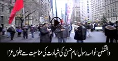 Procession of Shahadat Imam Hassan as in Washington