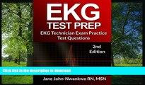 READ ONLINE EKG Test Prep: EKG Technician Exam Practice Test Questions (EKG Technician Exam