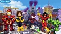 Daddy Finger Song Marvel Super Hero Squad - Finger Family Marvel Super Hero Squad