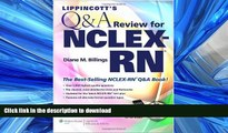 FAVORIT BOOK Lippincott s  Q A Review for  NCLEX-RN® (Lippincott s Q A Review for NCLEX-RN