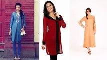 Latest Fashion 2016 Designer Kurtis Girls Kurtas | Latest Cotton Kurtis, Casual Cotton Kurtis