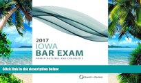 Pre Order 2017 Iowa Bar Exam Primer Outlines and Checklists Quest Bar Review On CD