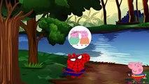 SPIDERMAN SAVES PEPPA PIG crying fun pj masks #pjmasks #gekko #catboy #captainamerica