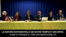 La nature exponentielle de notre temps et ses défis - Vivre et penser à l'ère anthropocène 2/2, Hans van der L00