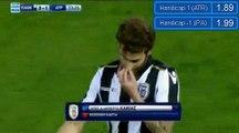 Javier Umbides Penalty Goal HD - PAOK 3 - 2Atromitos 28.11.2016
