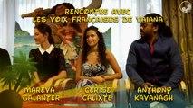 Interview des voix françaises de Vaiana, la Légende du Bout du Monde