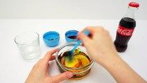 Cola Cola Slime, How to Make Cola Slime? DIY