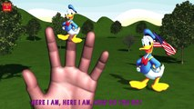 MICKEY MOUSE RIDE BANANA CAR Finger Family & MORE | Nursery Rhymes In 3D Animation