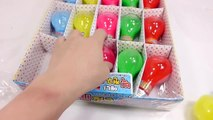 Surprise Toys Combine Colors Bulb Slime Water Clay Learn Colors Slime Nursery Rhymes Song