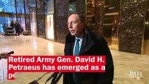Trump's Transition: Who is David Petraeus?