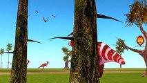 Dinosaurs Cartoon Short Film For Children | Dinosarus Finger Family & Short Movies For Kids