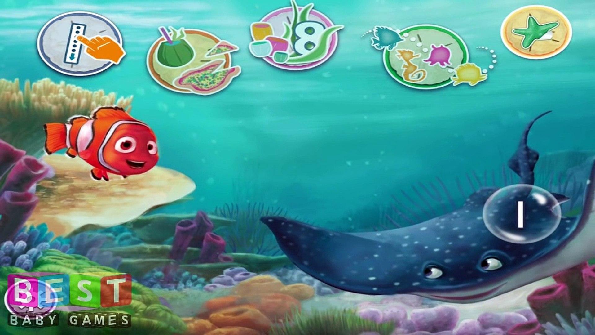 ღ Disney Finding Nemo Learn Numbers Education Game For Kids & Toddlers