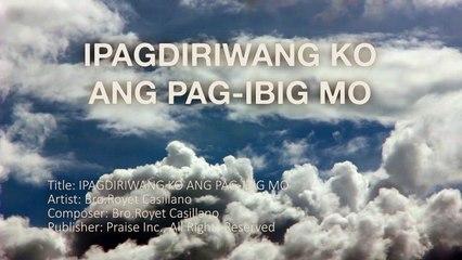 Ipagdiriwang ko ang pag-ibig mo