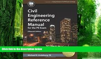 Audiobook Civil Engineering Reference Manual for the PE Exam, 15th Ed Michael  R. Lindeburg PE mp3