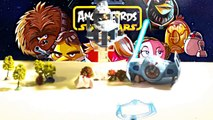 Star Wars & Angry Birds | Chewbacca contre Dark Vador sur le Destroyer Stellaire | jouets star wars