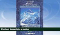 FAVORITE BOOK  Everest: A Trekker s Guide: Trekking routes in Nepal and Tibet (Cicerone Guides)
