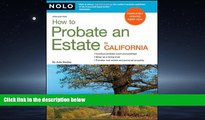 READ THE NEW BOOK How to Probate an Estate in California Julia Nissley BOOOK ONLINE